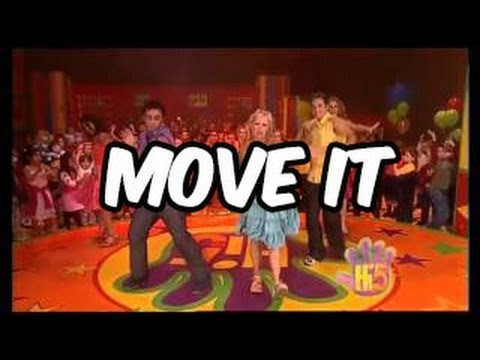 Move It - Hi-5 - Season 4 Song of the Week