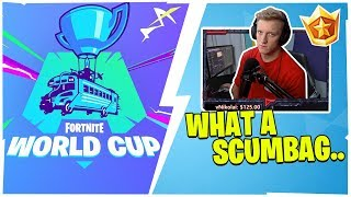 TFUE LOST HIS MIND WHEN A PLAYER DID THIS TO HIM IN A $100,000 TOURNAMENT!