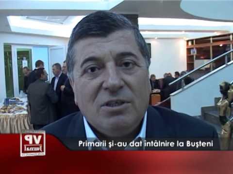Primarii și-au dat întâlnire la Bușteni
