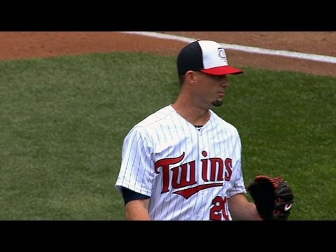 Roenicke - 5/19/13: Josh Roenicke holds the Red Sox hitless over 2 2/3 shutout innings of relief while recording a pair of strikeouts Check out http://MLB.com/video for...