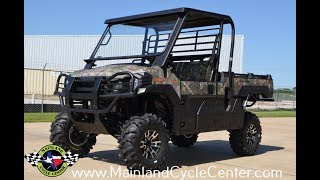7. Custom Outfitted 2017 Mule Pro FX EPS Camo with Lift Kit and More