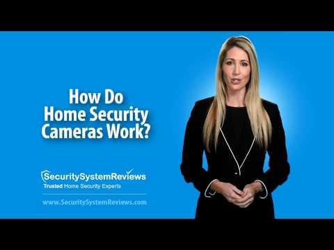 How Do Home Security Cameras Work?
