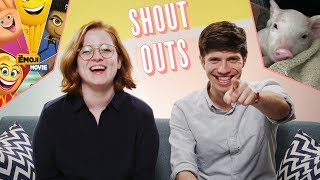 Matthew and Sarah shout-out to their favorite news stories and viewer comments of the week! - SUBSCRIBE to Above ...