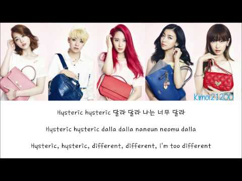 F(x) - NU ABO [Hangul/Romanization/English] Color & Picture Coded HD