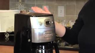 Grind & Brew™ 12 Cup Automatic Coffeemaker Demo Video Icon