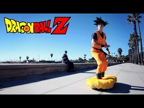 DBZ Flying Nimbus Prank