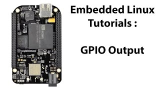 This video shows how to configure the pins on the BeagleBone Black as GPIO pins to interface with the LED on the BBB Learning Board. The Linux version being used in this video is Debian 8.6 but should also work for Debian 7.11.Buy the board here:https://www.tindie.com/products/AllAboutEE/beaglebone-black-embedded-linux-learning-board/