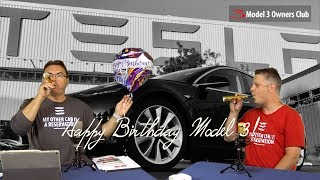 Happy Birthday to Model 3 Serial Number !EMPA Study:https://www.empa.ch/web/s604/soot-particles-from-gdiTesla Service Video:https://www.youtube.com/watch?v=PBbzOBQmk-0Toronto EV Discovery Centrehttps://plugndrive.ca/electric-vehicle-discovery-centreOur Patreon page:http://patreon.com/model3ownersclubShop for Model 3 Shirts:https://model3ownersclub.com/shopOur Gear:SONY FDR-AX33 4K camcorderZoom H6 Audio recorderApple Final Cut Pro XNOTE: Federal law allow citizens to reproduce, distribute , or exhibit portions of copyrighted material. This is called fair use and is allowed for the purpose of criticism, news reporting, teaching, and parody which doesn't infringe of copyright under 17 USC 107.