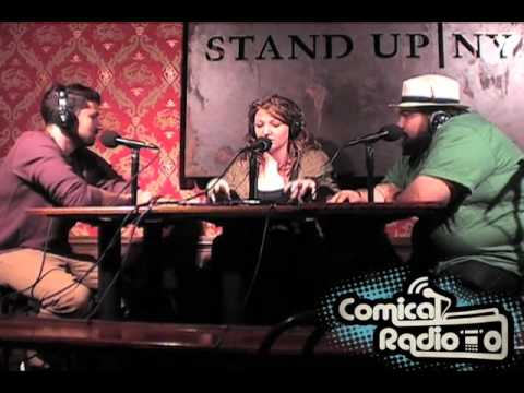 Mike Recine at Comical Radio