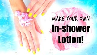 DIY In-shower Lotion for Perfect Summer Skin ☀ - YouTube