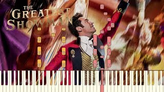"Video The Greatest Showman - ""Come Alive"" [Piano Tutorial] (Synthesia) MP3, 3GP, MP4, WEBM, AVI, FLV Januari 2018"