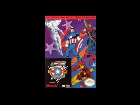 Captain America and the Avengers NES
