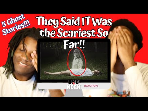 5 Ghost Videos SO SCARY You'll Scream for Yo MAMA! [REACTION VIDEO]
