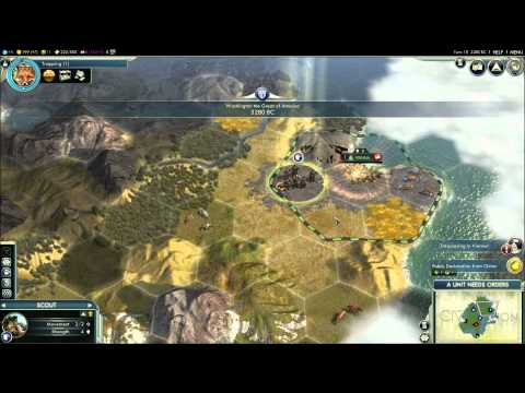 How to Play Civilization V - Beginner's Tutorial Guide w/ Commentary for New Players to Civ 5 1080p