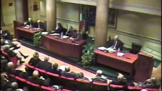 Convegno costi democrazia - Pres. Fausto Bertinotti
