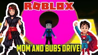 Roblox: DRIVING WITH MOM AND THE BUBS (Vehicle Simulator mod / minigame)