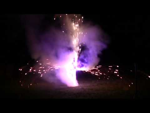 Feuerwerk Pyro-Team Berlin - Irish Folk Festival Poyenberg 13.06.15
