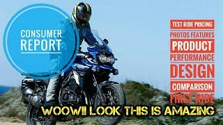 10. Look Triumph Tiger Explorer First Ride