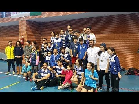 III Jornada Circuito provincial de Huelva de Bádminton celebrada en Isla Cristina