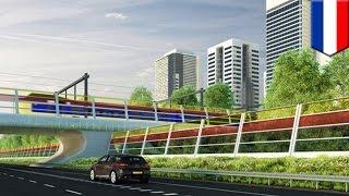 高速道路で太陽光発電!? 「防音ソーラーパネル」をオランダの大学が開発中