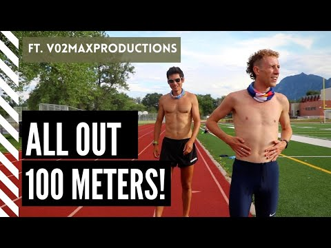 ALL OUT 100m SPRINT!!! *ft @Vo2maxProductions*