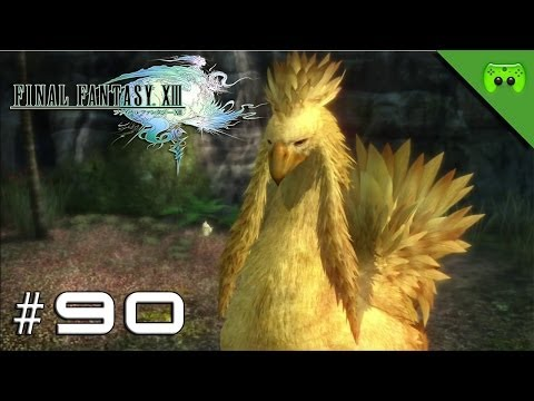 FINAL FANTASY 13 # 90 - Chocobo reiten «»  Let's Play Final Fantasy 13 | HD