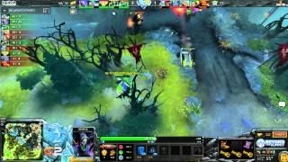 Na'Vi vs TTinker, game 1