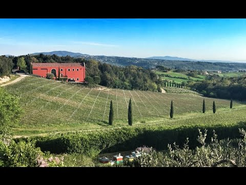 Waking Up in a Tuscan Dream... at Caiarossa Winery