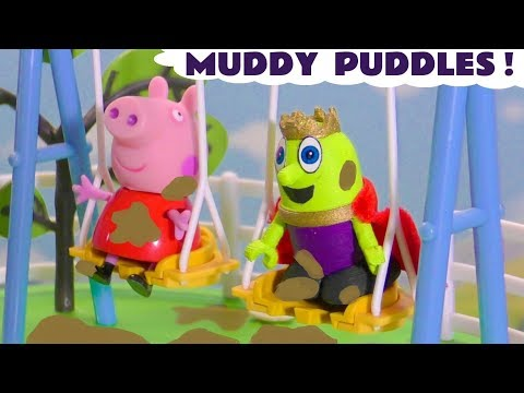 Peppa Pig Full Episode Muddy Puddles Accident in this Family Friendly English Story for Kids