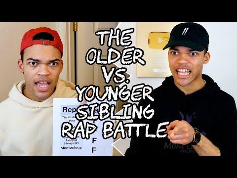 The Older vs. Younger Sibling Rap Battle
