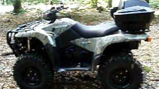 10. 1st drive with my new ATV  King Quad 750 AXi 4x4
