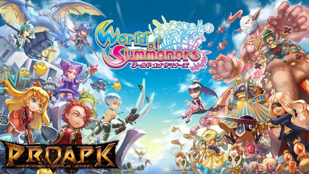 ワールド オブ サマナーズ(World of Summoners)by PAON DP Inc. (ANDROID/iOS/iphone/ipad) ►►► SUBSCRIBE PROAPK FOR MORE GAMES : <a href=
