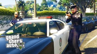 GTA 5 PC mods gameplay max settings 1080p free roam livestream includes first person mode SAPD:FR / LSPD:FR police simulator mode gameplay for Grand Theft Au...