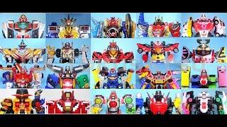 Video Super Sentai / Power Rangers DX Main Mecha 2000- 2018 スーパー戦隊 メインメカ タイムロボ- パトカイザー ASMR MP3, 3GP, MP4, WEBM, AVI, FLV Mei 2018