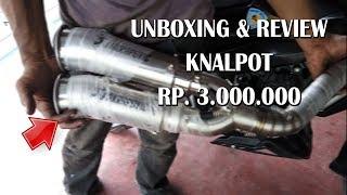 Video Unboxing & Review Knalpot balap Harga 3 Jutaan MP3, 3GP, MP4, WEBM, AVI, FLV Oktober 2017