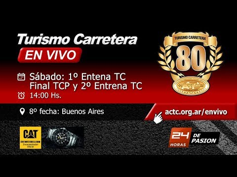 Final TC Pista y Segundo Entrenamiento TC