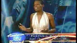 Fantasia Barrino Audition - YouTube