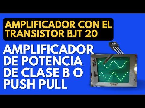 Amplificadores de Potenci - Donde se comenta sobre el Amplificador de potencia de clase B, se ve tanto la parte teórica, se simula y se realizan circuitos de prueba http://mrelberni.blo...