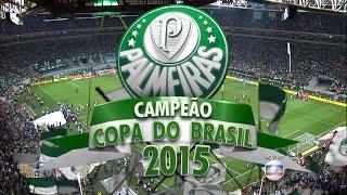 Gols Palmeiras 2 x 1 Santos - (4 x 3 pên) - Final Copa do Brasil 2015