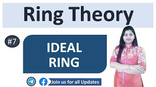 Ideal of Ring : Ring Theory in Hindi