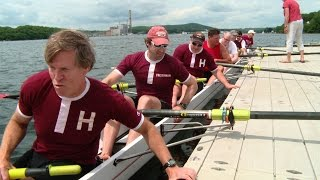 Harvard and Yale alumni celebrate 150 years of rowing