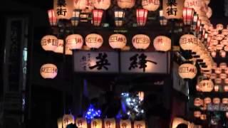 秋の犬山お城まつり(8)夜車山・巡行・提灯