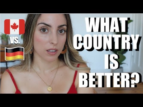 Germany vs. Canada | Cultural Differences