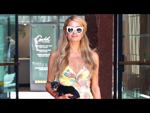 Paris Hilton Stocks Up On Beauty Supplies Before The Wedding!