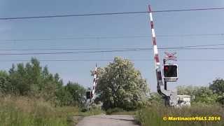 BACKWARD SHOT #003 - železniční přejezd Srnojedy