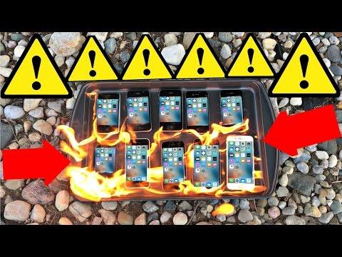 iPhonet tuleen – Mikä malli kestää pisimpään ehjänä?