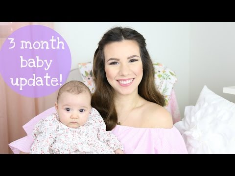 3 Month Baby Update: Smiling, Cooing, Sleeping Through The Night | Hayley Paige