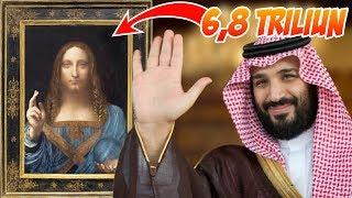 Download Video Punya Lukisan 6,5 Triliyun dan Kapal 7,5 Triliyun ✅✅ Segini Kekayaan Pangeran Arab Saudi MP3 3GP MP4