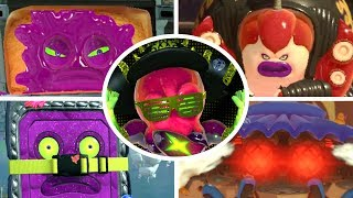 All bosses compilation of Splatoon 2 without taking damage for Nintendo Switch (1080p & 60fps)   Enjoy - Rate - Comment - Subscribe =) ►Activate the description for the order of the bosses!!Every boss fight:00:00 Octo Oven03:20 Octo Samurai08:20 Neo Octostomp12:24 Octo Shower15:55 DJ Octavio feat. Callie Octobot King II25:23 EndingAll boss battles of Splatoon 2 without taking damage for Nintendo Switch in 1080p and 60fps►No Commentary Gameplay by ProsafiaGaming (2017)◄