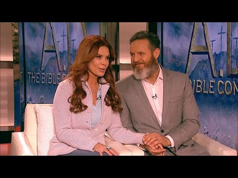 Mark Burnett & Roma Downey on Continuing Their Bible Series: It Looks Epic